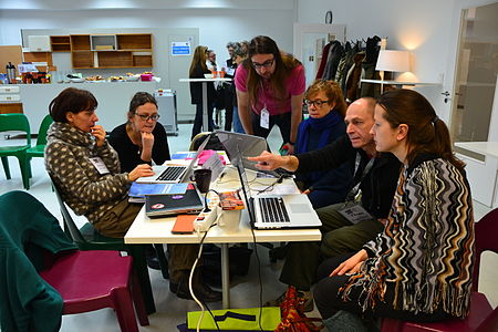 Wikipedia Women in Film workshop during Berlinale film festival