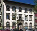 Berlin, Kreuzberg, Schleiermacherstrasse 23, Leibniz-Oberschule, Direktorenwohnhaus.jpg