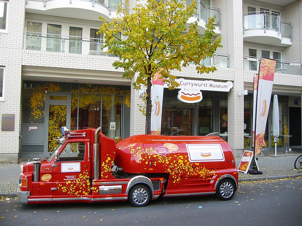 Berlin-Mitte Deutsches Currywurst Museum