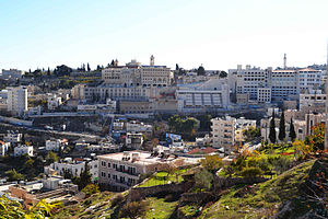 Bethlehemites - General view of Bethlehem today