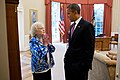 Betty White and Barack Obama in the Oval Office.jpg