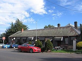 Beveridge, Victoria - Hunters Tryste Inn, 1845