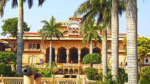 Bharatpur, Rajasthan - A front view of the Bharatpur Palace