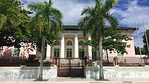 National Register of Historic Places listings in San Juan, Puerto Rico - Image: Biblioteca Carnegie, San Juan, Puerto Rico. (02)