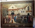 Bicci di lorenzo, Papa Martino V consacra la chiesa di Sant'Egidio a Firenze, 1424 ca., 01.jpg