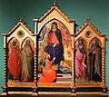 Bicci di lorenzo, madonna della cintola e santi, 1420 ca. (lastra a signa, museo di gangalandi) 01.jpg