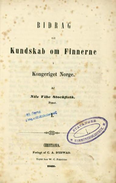 File:Bidrag til kundskab om Finnerne 1.djvu