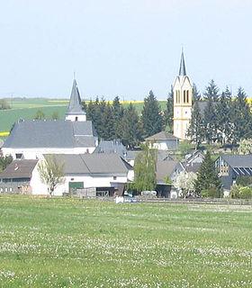 Biebern Place in Rhineland-Palatinate, Germany