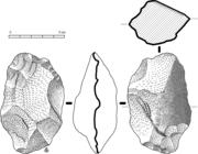 A Oldowan stone tool