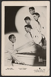 Billy Ward and his Dominoes African American R&B group