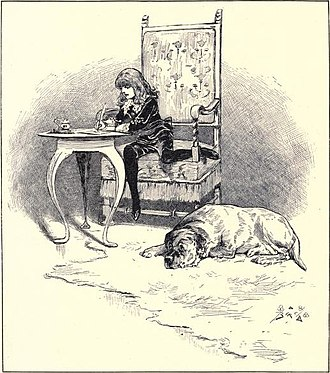Little Lord Fauntleroy - An illustration by Birch from 1886
