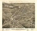 Bird's eye view of Great Falls, Strafford Co., New Hampshire & Berwick, York Co., Maine 1877. LOC 73693498.tif