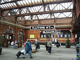 Birmingham station group - Birmingham Moor Street's booking hall