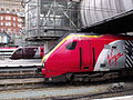 Birmingham New Street Station - Virgin Super Voyager - 221114 and Cross Country Class 220 (7263716678).jpg