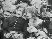 Birth of a nation, 1915, elsie e Austin Stoneman a teatro, quando viene ucciso Lincoln.jpg
