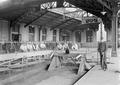 Biwak Zentralbahnhofs Elsass - Lothringen - Bahn - CH-BAR - 3237289.tif