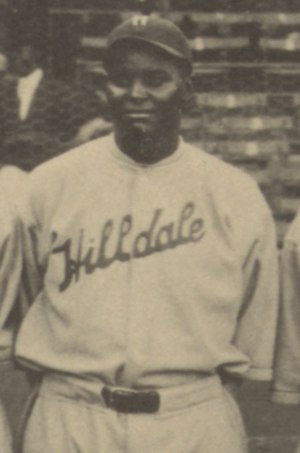 Biz Mackey - Mackey at the 1924 Colored World Series.