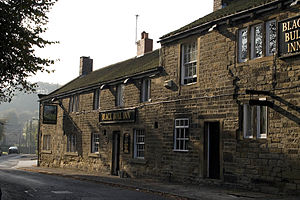 Birstall, West Yorkshire - Black Bull public house
