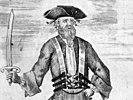 Blackbeard, as depicted by Benjamin Cole