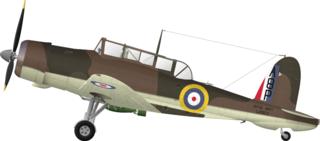 Blackburn Skua carrier-based fighter and dive bomber