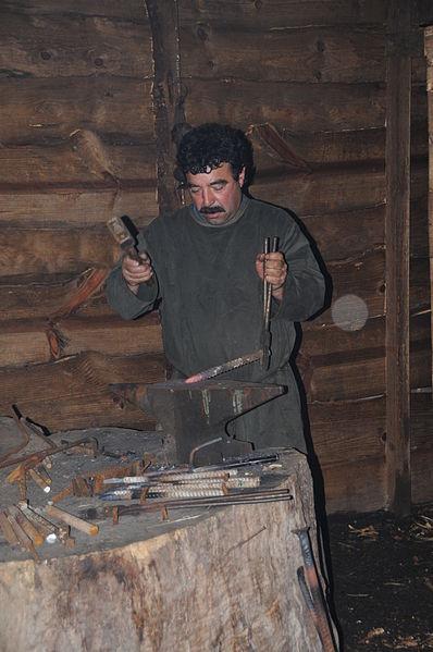 File:Blacksmith in Priscos.JPG