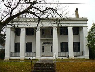 Demopolis, Alabama - Bluff Hall in 2008