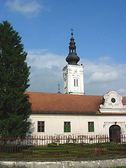 The Bođani Orthodox monastery