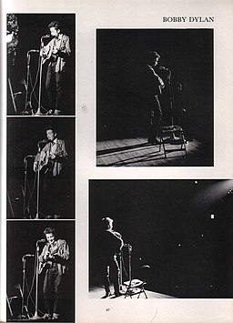 Bob Dylan 1964 St. Lawrence College Yearbook