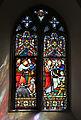 Bobbingworth, Essex, England - St Germain's Church interior - chancel window 02.JPG
