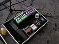 Boboroshi's pedalboard, Honor by August, Loudon Youth Initiative Festival, 2007-05-05.jpg