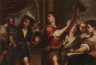 Pedro Atanasio Bocanegra - Triumph of David, now at the Prado in Madrid.