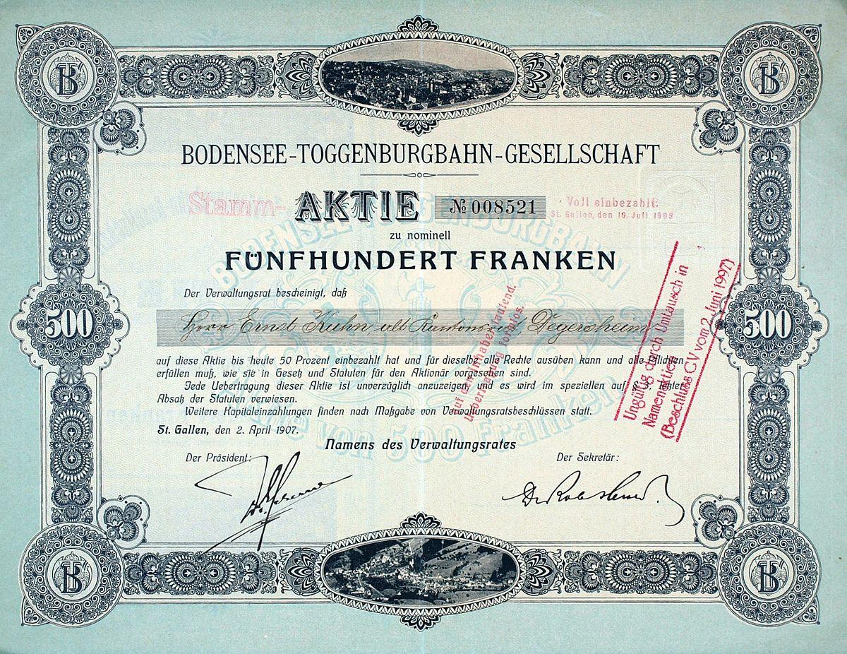 Bodensee–Toggenburg railway - Wikipedia