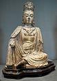 Le bodhisattva Guanyin, assis.