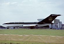 A Ups Boeing 727 100 In Louisville Kentucky In The 1988 2003 Livery