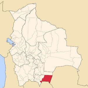 Gran Chaco Province - Image: Bolivia Tarija Gran Chaco
