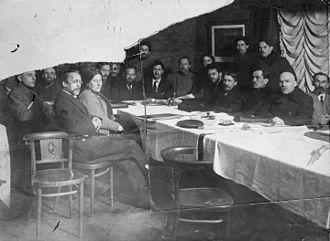 Ukrainian Soviet Socialist Republic - Bolshevik commissars in Ukraine some time in 1919
