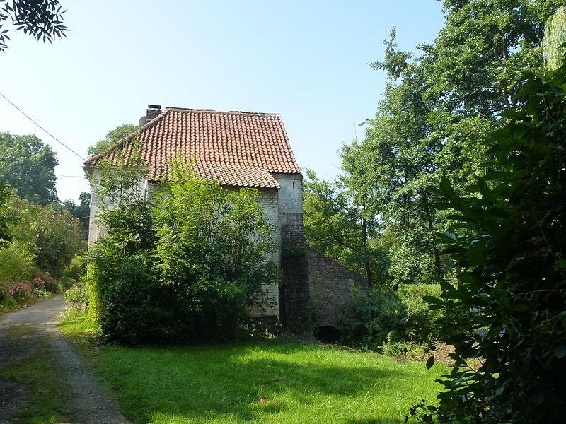 Bonningues-lès-Ardres (Pas-de-Calais) moulin à eau