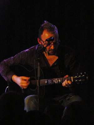 Boo Hewerdine - Performing in Aberdeen in 2009
