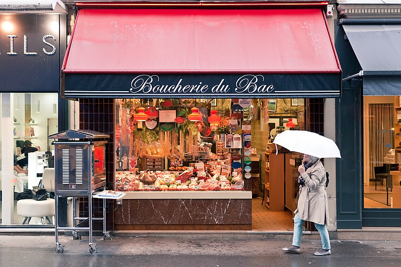 File:Boucherie du Bac, Paris 10 April 2013.jpg