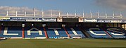 Boundary Park is Oldham's main sports stadium, and is used by Oldham Athletic A.F.C. and Oldham Roughyeds.