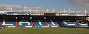 Oldham Athletic A.F.C. - Rochdale Road stand