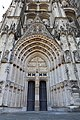 Bourges (18) Cathédrale Saint-Étienne - Extérieur - Portail Saint-Guillaume - 01.jpg