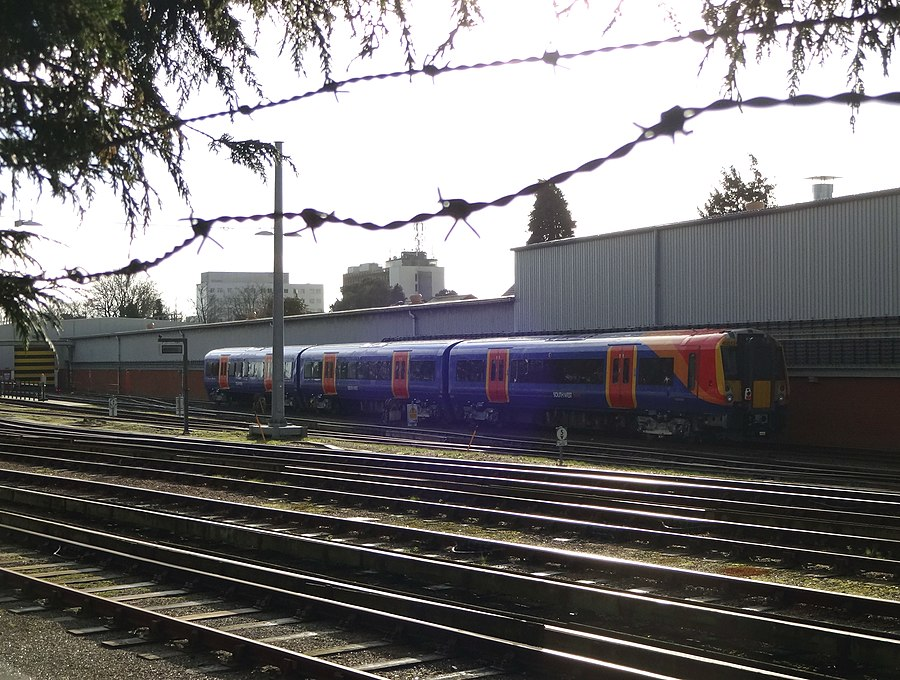 Bournemouth Traction and Rolling Stock Maintenance Depot