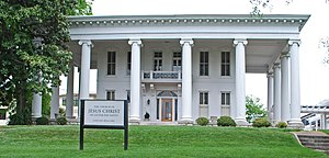 National Register of Historic Places listings in Hamilton County, Tennessee - Image: Brabson House Chattanooga