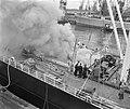 Brand in ruim van schip Portalon, Bestanddeelnr 912-4760.jpg