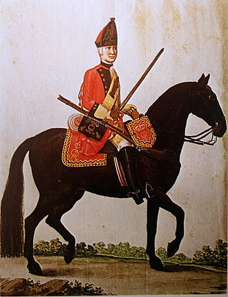 Battle of Corbach - Hanoverian Cavalryman