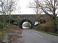 Bridge carrying the main London to Brighton railway over Cross Oak Lane, north of Horley , Surrey - geograph.org.uk - 1577251.jpg