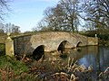 Bridge on Tundry Pond - geograph.org.uk - 595443.jpg