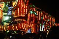 Bridgwater carnival 2017 - Ramblers CC (Halloween in Deadman's Hollow) cart.JPG