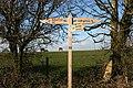 Bridleway signpost - geograph.org.uk - 368597.jpg